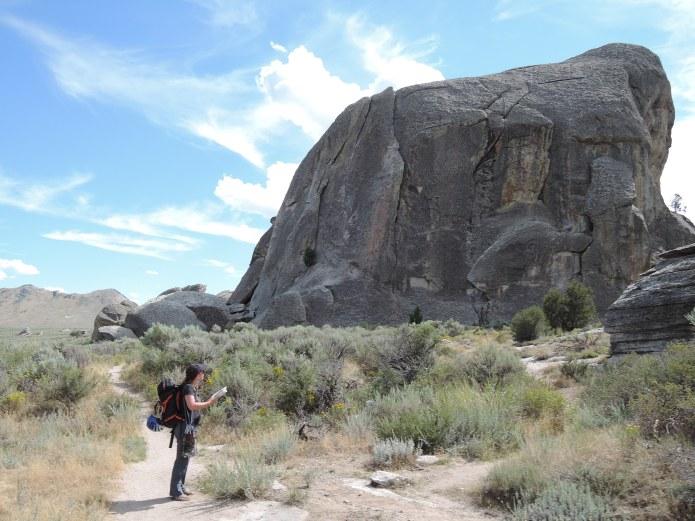 City of Rocks Idaho - Elephant Rock - Foto von © Nadia Sbilordo