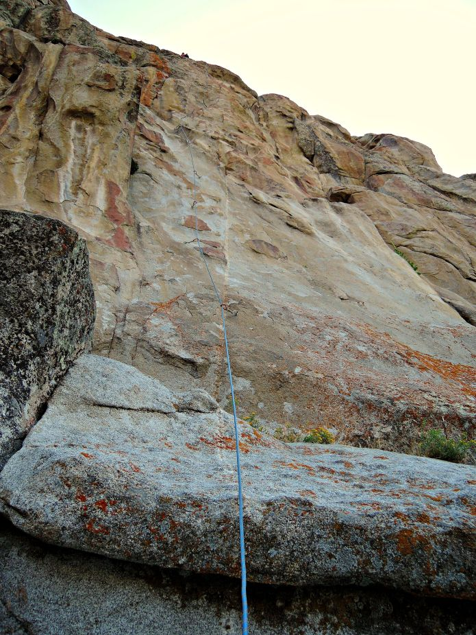 City of Rocks Idaho, Route She's the Bosch am Sektor Window Rock - Foto von © Nadia Sbilordo