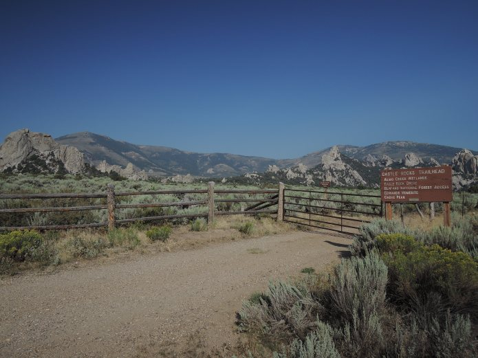 Castle Rocks State Park Idaho - Parkeingang - Foto von © Nadia Sbilordo