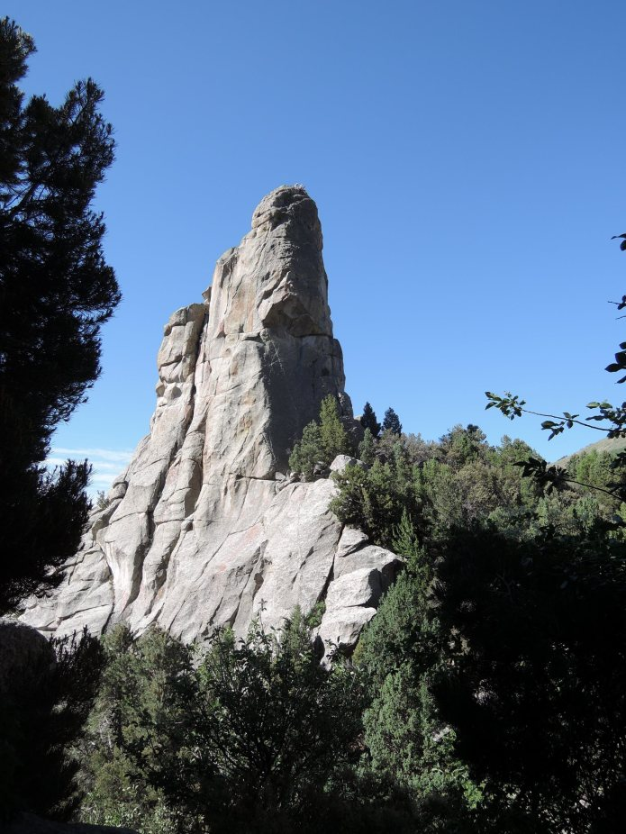 City of Rocks Idaho - Morning Glory Spire - Foto von © Nadia Sbilordo