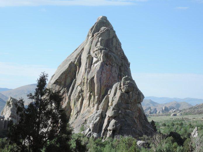 City of Rocks Idaho Parkinglot Rock - Foto von © Nadia Sbilordo