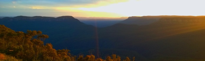 Blue Mountains Australien / Foto © Nadia Sbilordo