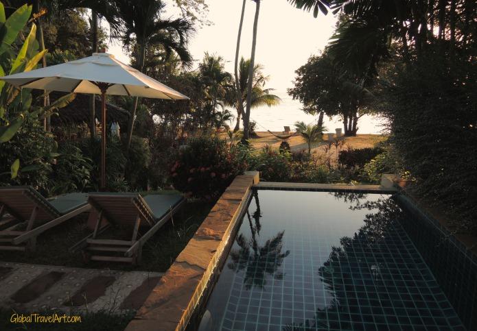Pool der Pool Villa