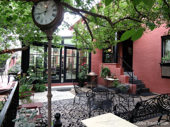 Chamberli Inn Garten