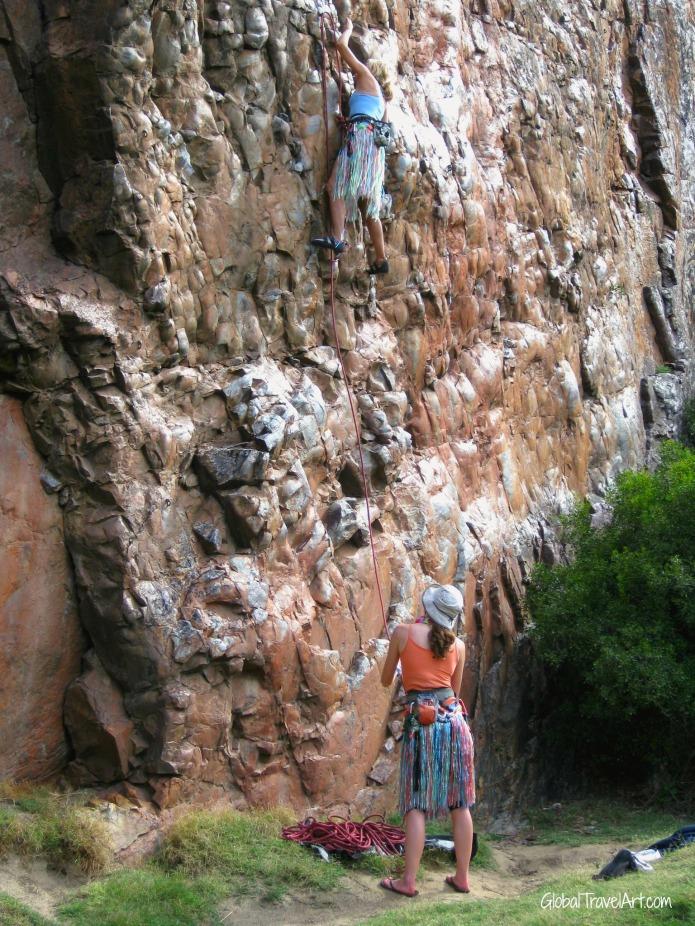fancy climbing grils