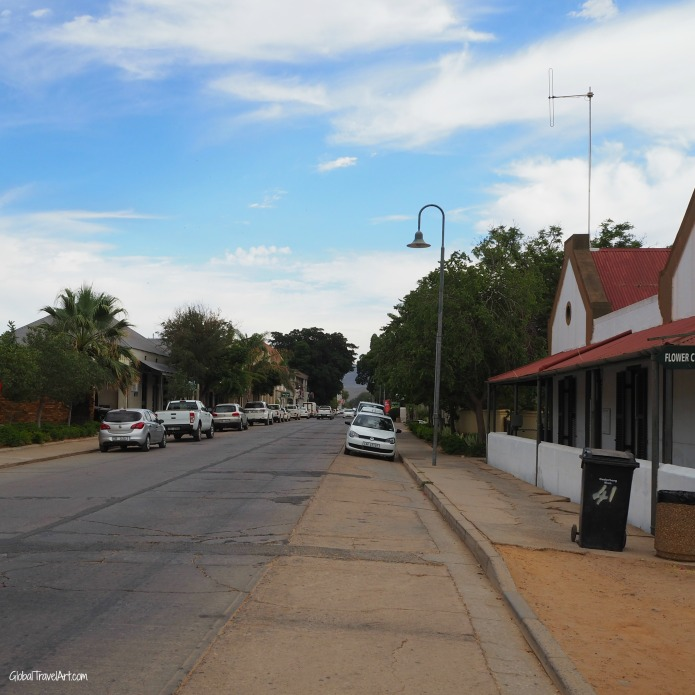Strasse in Clanwilliam