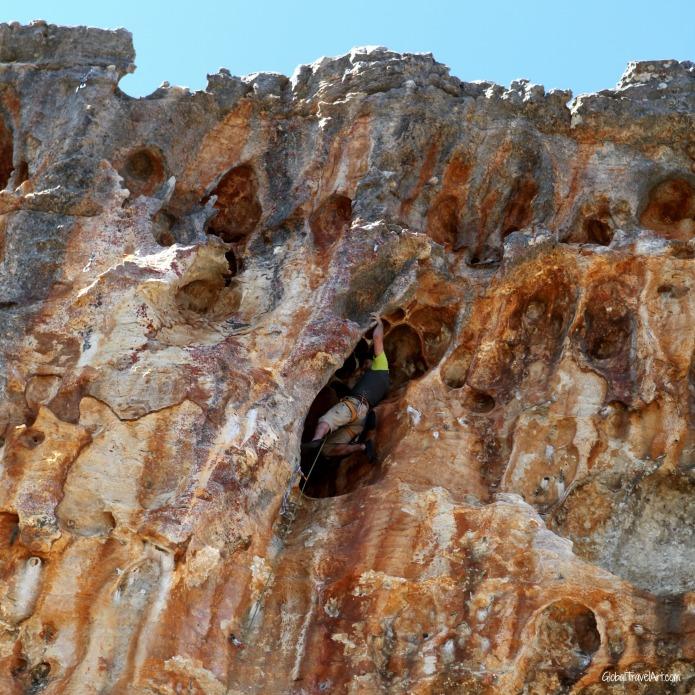Habenero, 23/6c+ an der Orange Plasma Wall